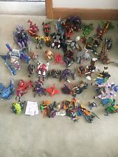 BEAST WARS TRANSFORMERS- Massive Collection Of FORTY Vintage Action Figures-