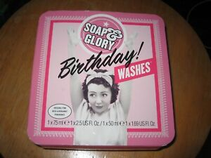 SOAP AND GLORY BIRTHDAY WASHES GIFT SET NEW/ SEALED