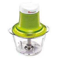 Mini Blitz Electric Food Chopper Fruit Vegetable Onion Slicer Dicer, 600ml Green