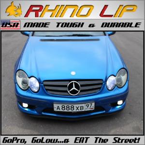 MERCEDES AMG E63 4MATIC~T S65 SL65 C63 E63 GT GT63 Spoiler Chin Lip Rubber Trim