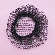 10 xBlack Invisible Mesh Weaving Wig Hair Net Hair Accessories Pop