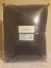 Threshold KING Ebony Black Waffle Comforter