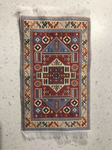 Dollhouse Rug 1:12 Has More Native Design But Would Work Well In Victorian