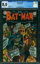 Batman 214 CGC 8.0 -- 1969 -- Batgirl app. Marriage Protest. Novick #0241669005