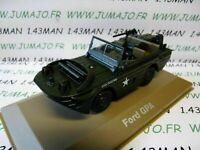 BL12H VOITURE 1/43 Militaire ATLAS : Ford GPA Amphibie