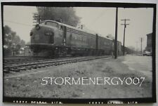 Western Maryland Railway Fast Freight Line No. 65 Engine Keyser WV contact photo