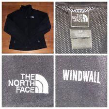 The North Face Women's Black Full Zip Fleece Windwall Jacket Size Small