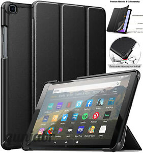 All Tablet Smart Leather Stand Cover Case For Amazon Kindle Fire 7, HD 8, HD 10