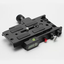 Dovetail QR Plate Rapid Connector fr Manfrotto 501PL 577 Camera Dolly Slider RC5