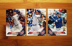 2016 Topps MINI Chicago Cubs TEAM SET
