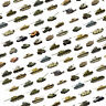 Armourfast tanks and military vehicles model kits in 1:72 scale (33 models)
