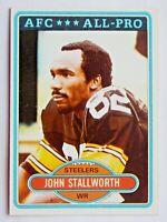 John Stallworth #130 Topps 1980 Football Card (Pittsburgh Steelers) VG