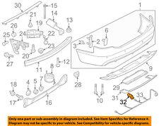 AUDI OEM 09-11 A6 Quattro Rear Bumper-Parking Aid Reverse Sensor 7H0919275EY9B