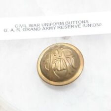 Uniform Button Civil War Antique Grand Army Republic GAR Vintage Metal Union