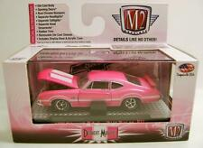 1970 '70 OLDS CUTLASS 442 W-30 PINK BREAST CANCER M2 MACHINES DIECAST 2015