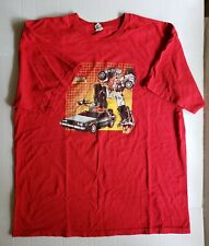 Vintage XL Transformers Marty McPrime Back to the Future Red Tshirt
