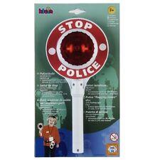 Klein Polizei-Kelle Kontrolle Polizeikelle mit Blinklicht