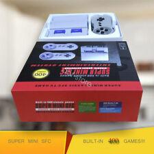 Super NES SNES Mini Classic Game Console Entertainment Built -in 400 Xmas Gift