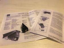 Dual V15 System VN35 E kpt. System V-15 Typ III TK 136 Shure CS 721/704/701....
