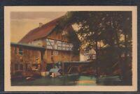 41305) AK Bremsdorfer Mühle Post Fünfeichen Lausitz 1927