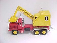 "SSS (Japan) Tinplate ""Power Shovel on Diesel Truck"" - scarce circa 1960"