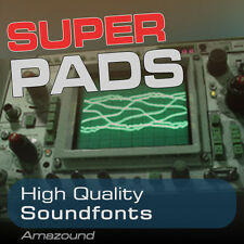 SUPER PADS SOUNDFONT COLLECTION 128 SF2 FILES 1.5GB QUALITY SAMPLES FAT & WARM