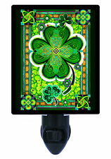 Night Light - Shamrocks - Four Leaf Clover - St. Patricks Day - Irish