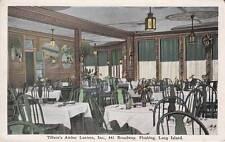Antique POSTCARD c1920-30s Tillson's Amber Lantern FLUSHING, QUEENS, NY 15119