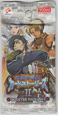 Genso Suikoden Card Stories Chapter II Booster Vol.1 Sealed Pack