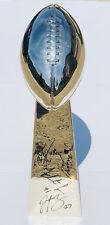 PHILADELPHIA EAGLES SUPERBOWL LII CHAMPIONS SIGNED AUTOGRAPHED LOMBARDI TROPHY