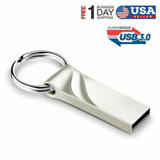 30GB Flash Drive USB 3.0 Memory Stick Pen Drive U Disk Metal Key Thumb PC Laptop