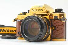 【Rare! TOP MINT】Nikon FA GOLD GRAND PRIX'84 Film Camera w/ Ai-s 50mm f/1.4 JAPAN