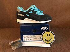Asics x Solebox Gel Lyte III 7US 6UK 39EU Blue Carpenter Bee H61NK-9090