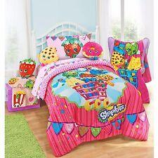 Shopkins Comforter Kids Twin Full Size Reversible Comforter Bedding New in Bag