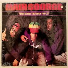 1991 - MAIN SOURCE - PEACE IS NOT THE WORD TO PLAY - WILD PITCH ORIGINAL PRESS
