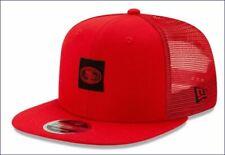 New Era San Francisco 49ers Shanahan Square Trucker Hat 9Fifty *Same Day Ship*