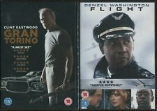 GRAN TORINO and FLIGHT - GENUINE UK RELEASE - NEW