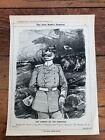 "1914 cartoon print "" the coming of the cossacks "" wilhelm 11"