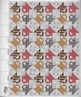 United States Scott 1745 - 1748, the 13 Folk Art Quilts sheet of 50 Mint