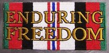 Embroidered Patch Gulf War Enduring Freedom Service Ribbon NEW