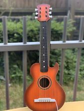 More details for toyrific wooden wood kids children kids guitar muscial instrument 26 inch toy uk