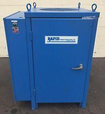 RAPID DC POWER SUPPLY AC INPUT 460V 6A; DC OUTPUT 6V 500A RECTIFIER