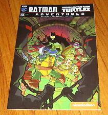 Batman Teenage Mutant Ninja Turtles Adventures #3 Ben Harvey Ri Variant Edition