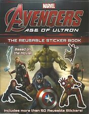 The Age of Ultron AVENGERS Reusable Sticker Book MARVEL New SUPER HEROES Movie
