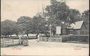 London - Dulwich, Old Tollgate - postcard by Stengel, 1905 pmk