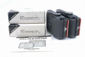 Horseman 8EXP/120 6x9 Roll Film Back Holder 22401 2set *R082