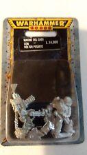 Warhammer 40k blister Marine del caos con bolter pesante
