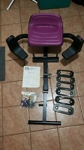 (NEW) EUC Body By Jake Hip & Thigh Exercise Machine W/ All 6 Resistance Bands
