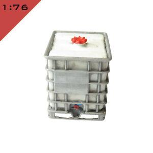 1x 3D printed IBC PALLET TANK 1000L 1:76, OO Model Miniature Scenery Layout