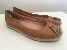 Top End Leather Shoes Flats Vanya Tan Size 37 #66 RRP $159.95